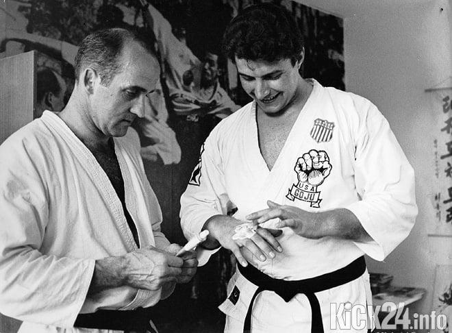 Johnny Kuhl and George Brueckner