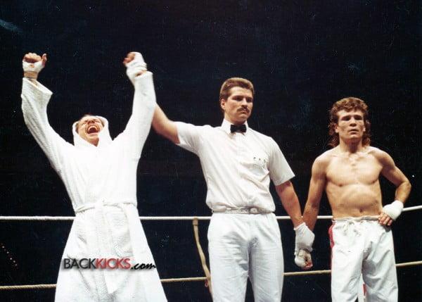 Kickboxer Mike Kuhr
