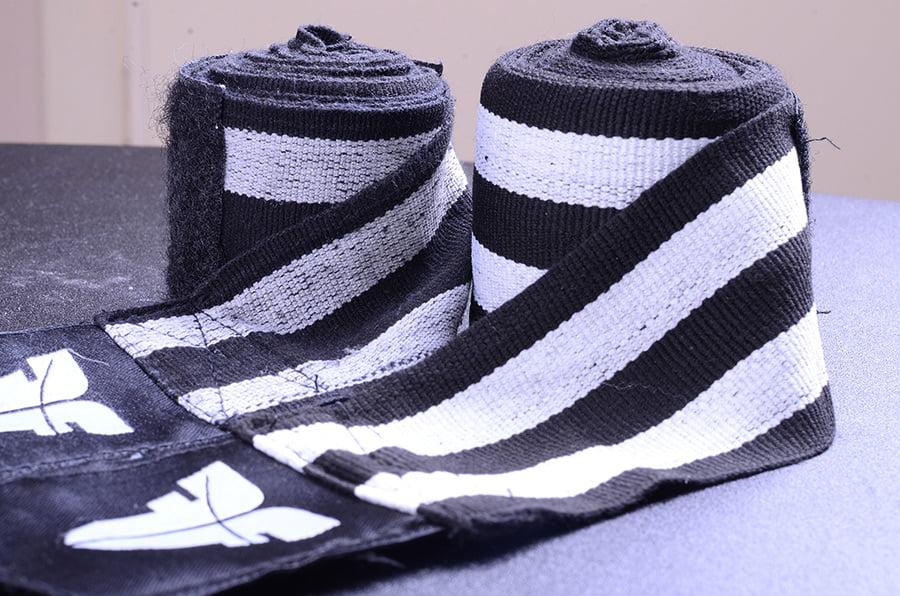 black white handrwaps