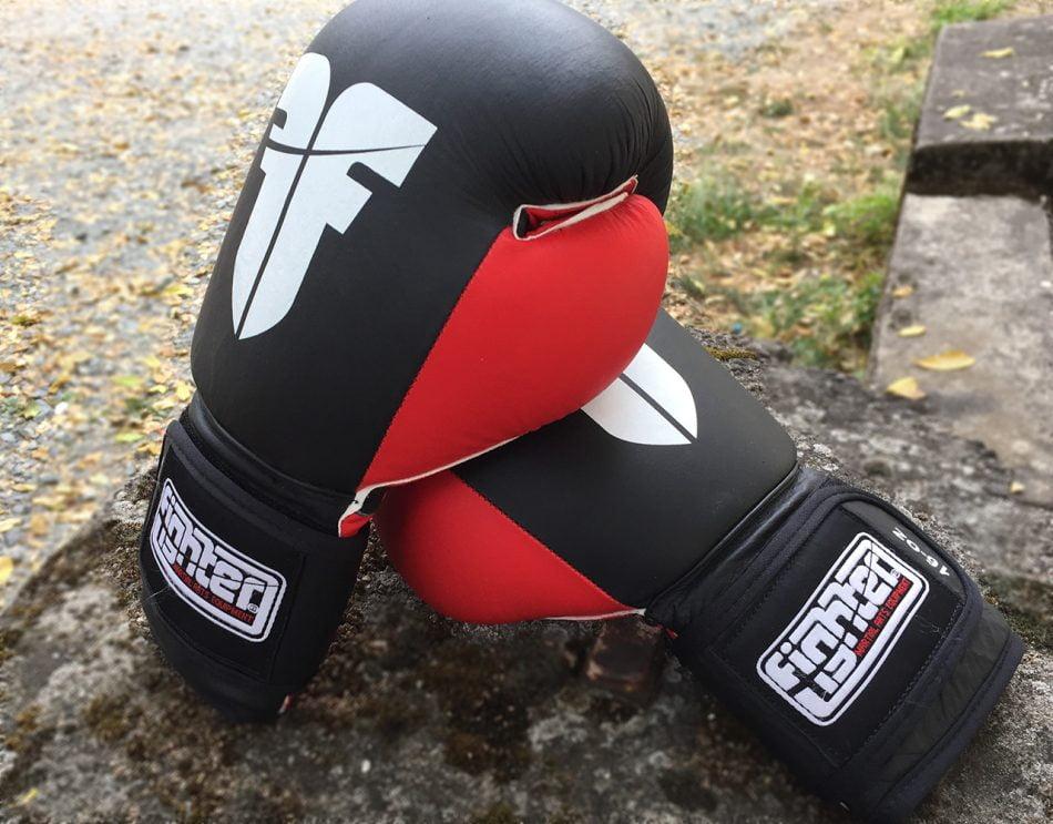 lether boxing gloves